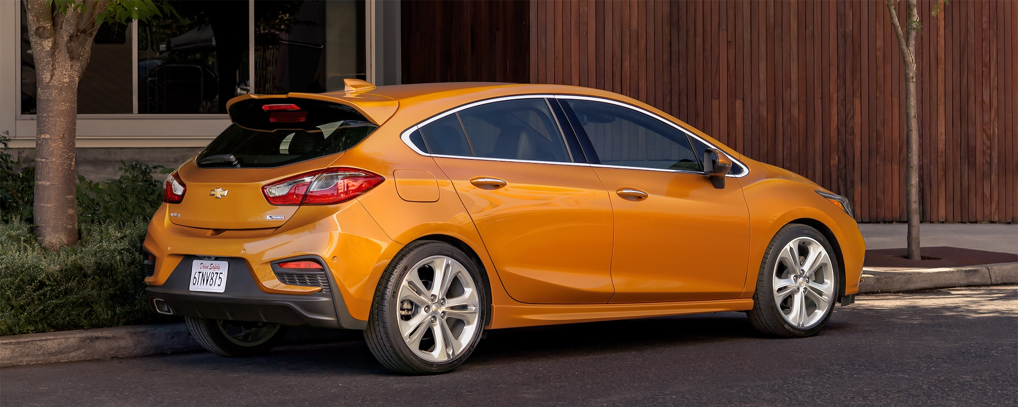 Economía de combustible de Chevrolet: Cruze Premier Hatch 2017