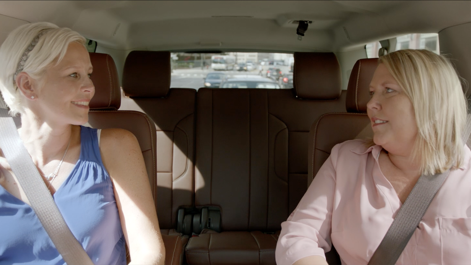 Making Strides Against Breast Cancer de Chevrolet: Video: Comparte la lucha - Stacey y Kristy