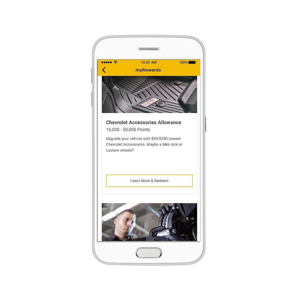 Aplicación myChevrolet: Experiencia del propietario