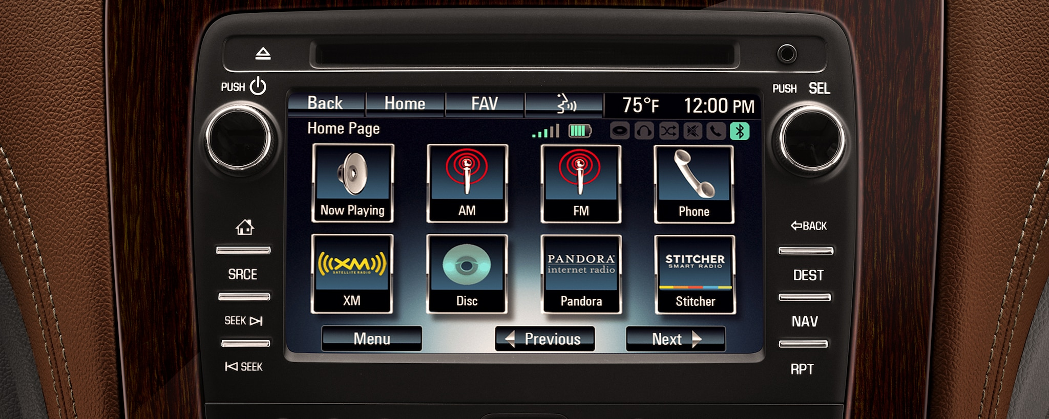 Chevrolet MyLink Radio: pantalla