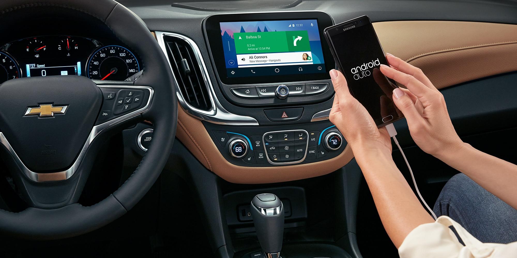 Conectividad Chevrolet: Android Auto