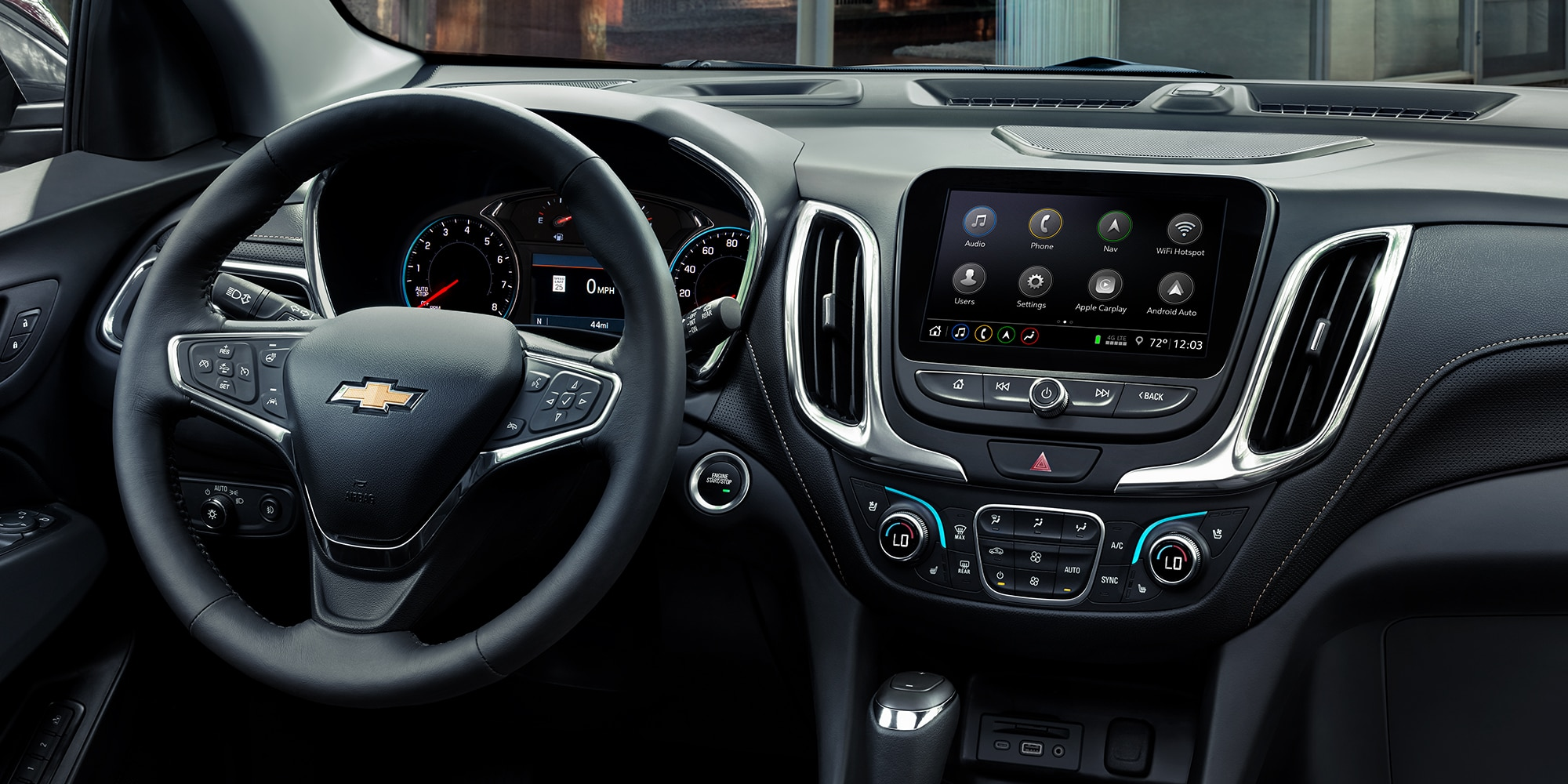 Conectividad Chevrolet: Tablero
