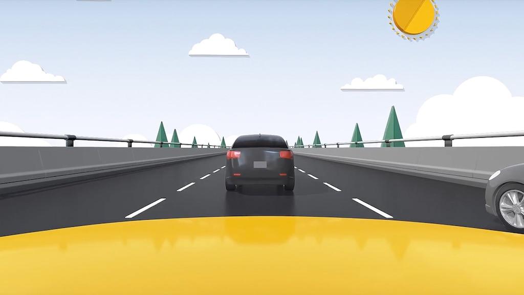 Seguridad: Video de control de velocidad automática adaptativo