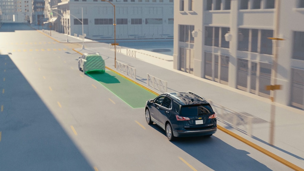 Chevy Safety Assist: Forward Collision Alert y frenado de emergencia automático | Chevrolet