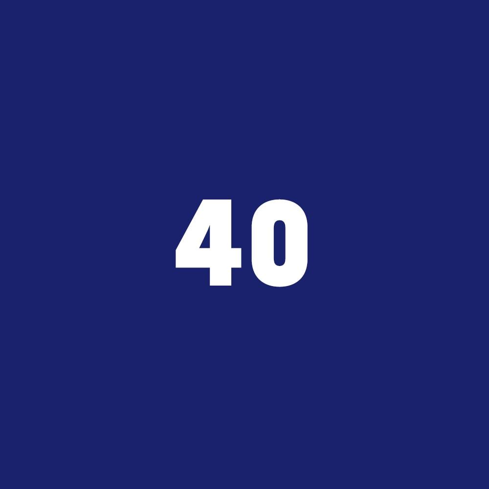 Fútbol juvenil de Chevy 2018: Ícono 40
