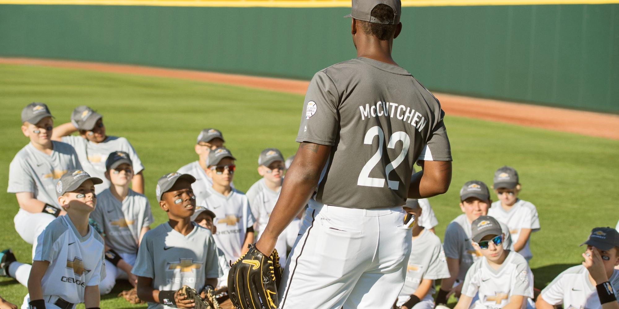 Béisbol juvenil Chevy: Andrew McCutchen 3