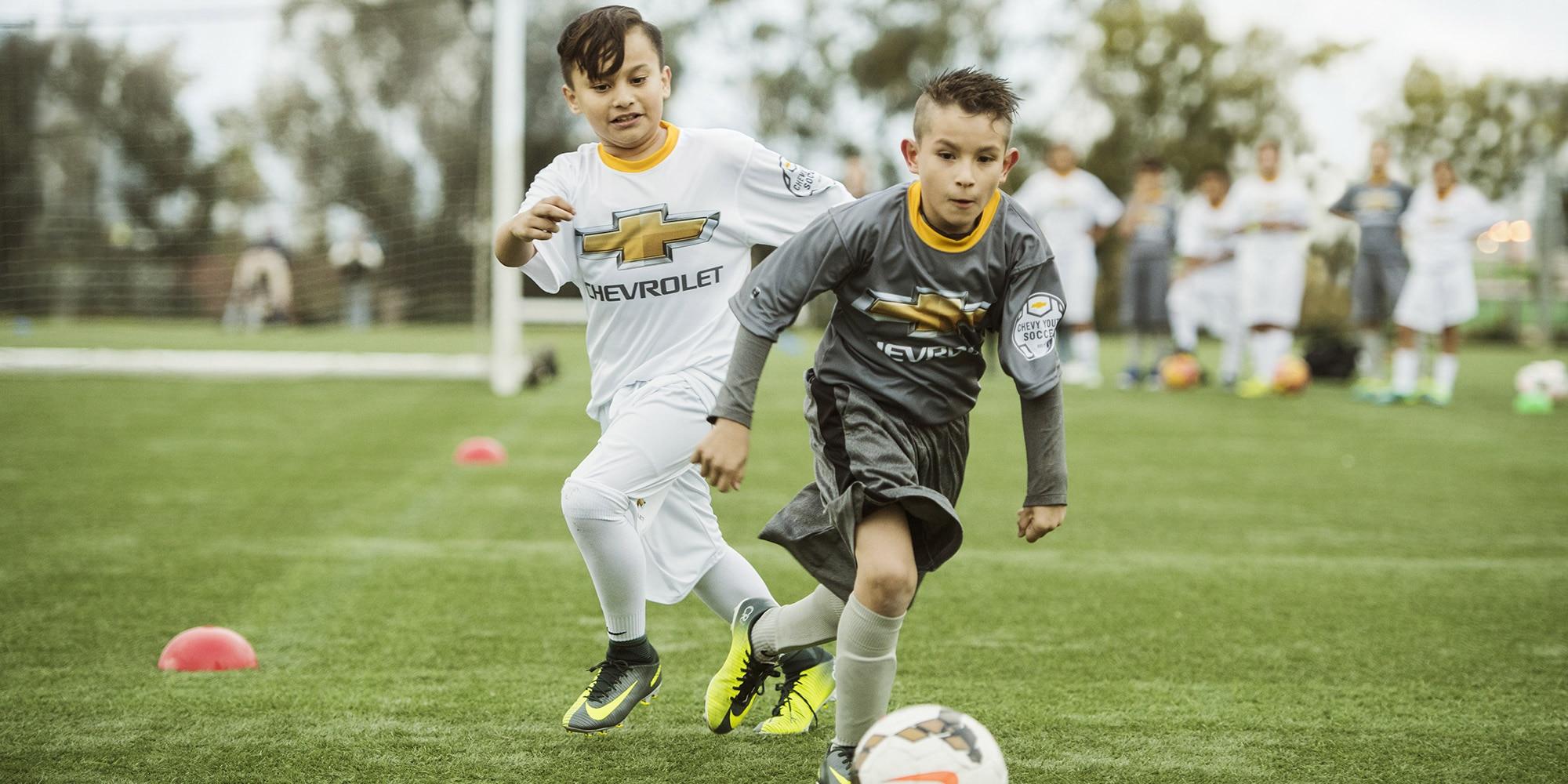 Fútbol juvenil de Chevy 2018