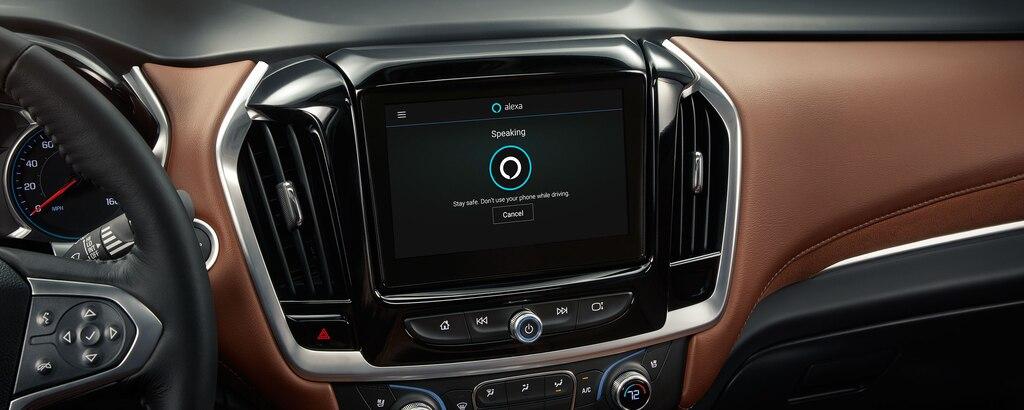 Chevy Traverse 2021: Alexa Built-In disponible en sistema de infoentretenimiento