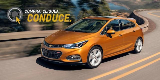 Página de inicio de Chevrolet: Shop Click Drive