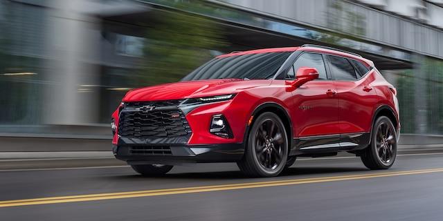 Página de inicio de Chevrolet: Blazer 2019