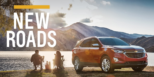 Página de inicio de Chevrolet: New Roads
