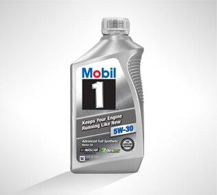 Aceite completamente sintético Mobil1 del servicio certificado de Chevrolet