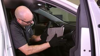 Filtro de aire para cabina.