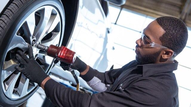 Ofertas de neumáticos del servicio certificado de Chevrolet