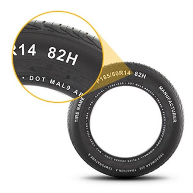 Índice de velocidad y carga de neumáticos