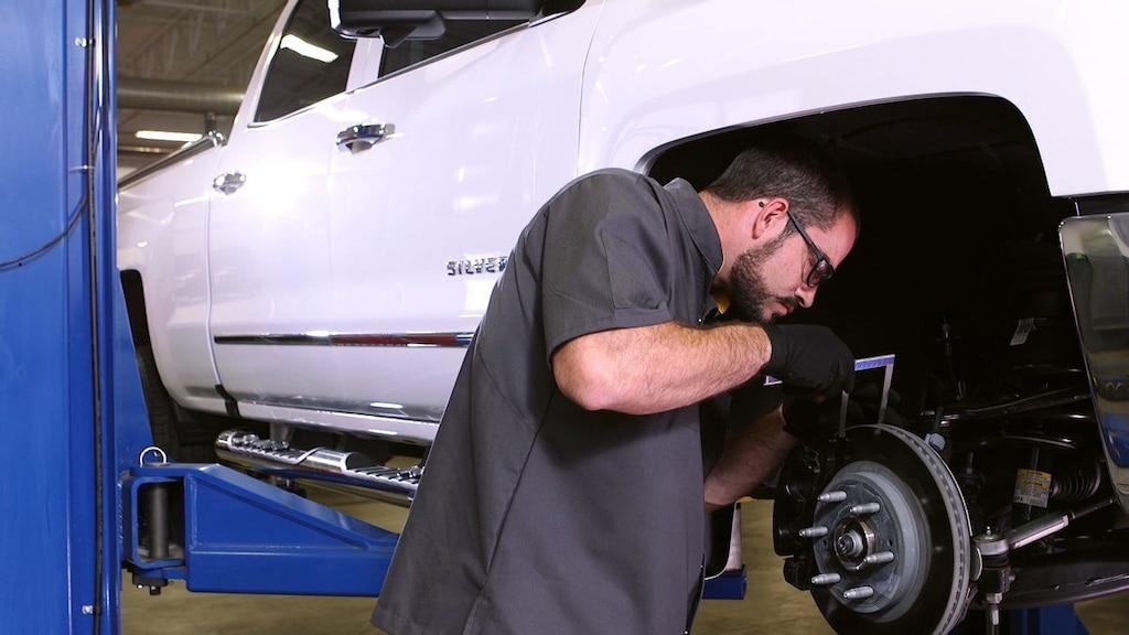 Mantenimiento de frenos del vehículo