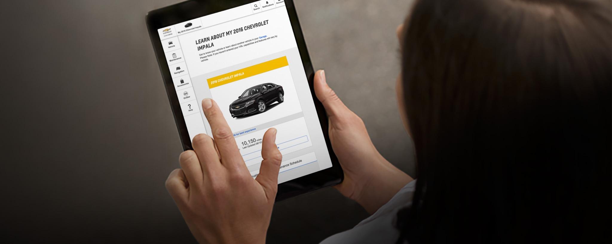 Recursos para propietarios Chevy: Centro de dueños