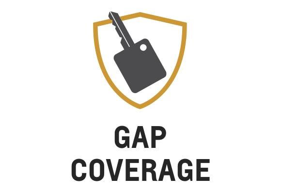 Ícono de la cobertura GAP de la protección de Chevrolet