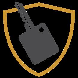 Logo de la cobertura GAP con protección de Chevrolet