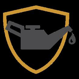 Logo del mantenimiento prepago con protección de Chevrolet