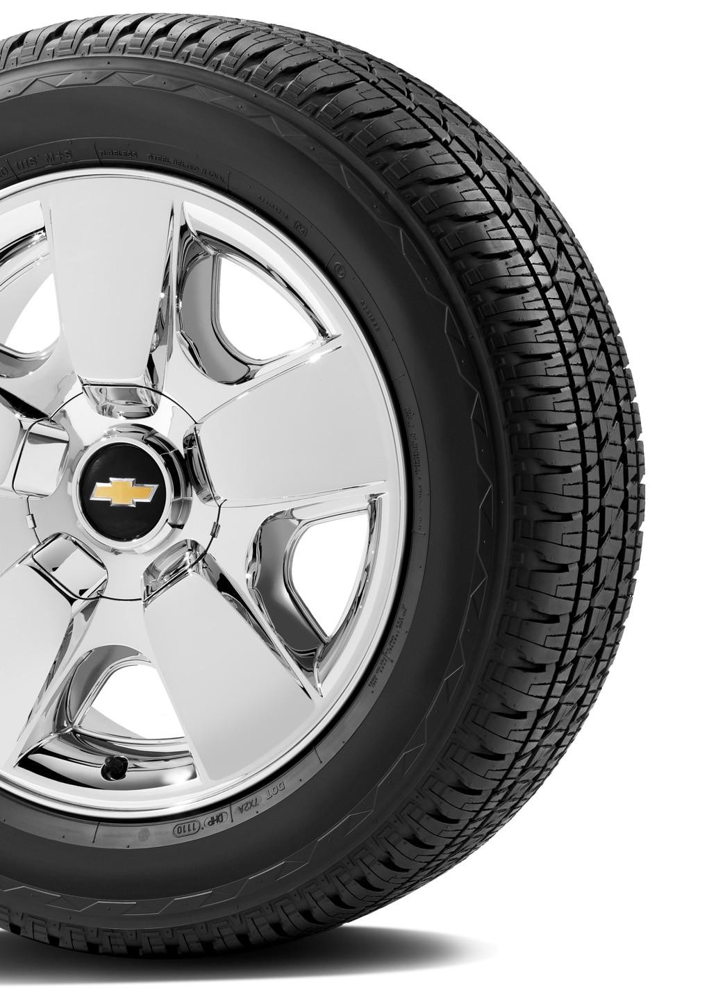 Video con el resumen de la protección de neumáticos y rines de Chevrolet