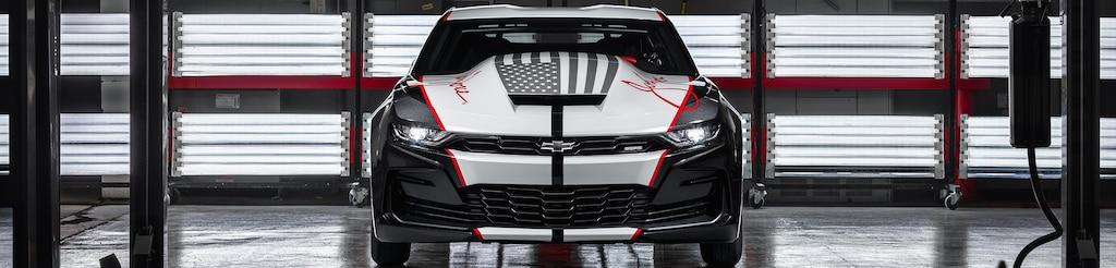 Chevrolet Performance - John Force - Auto de carrera Camaro COPO SEMA