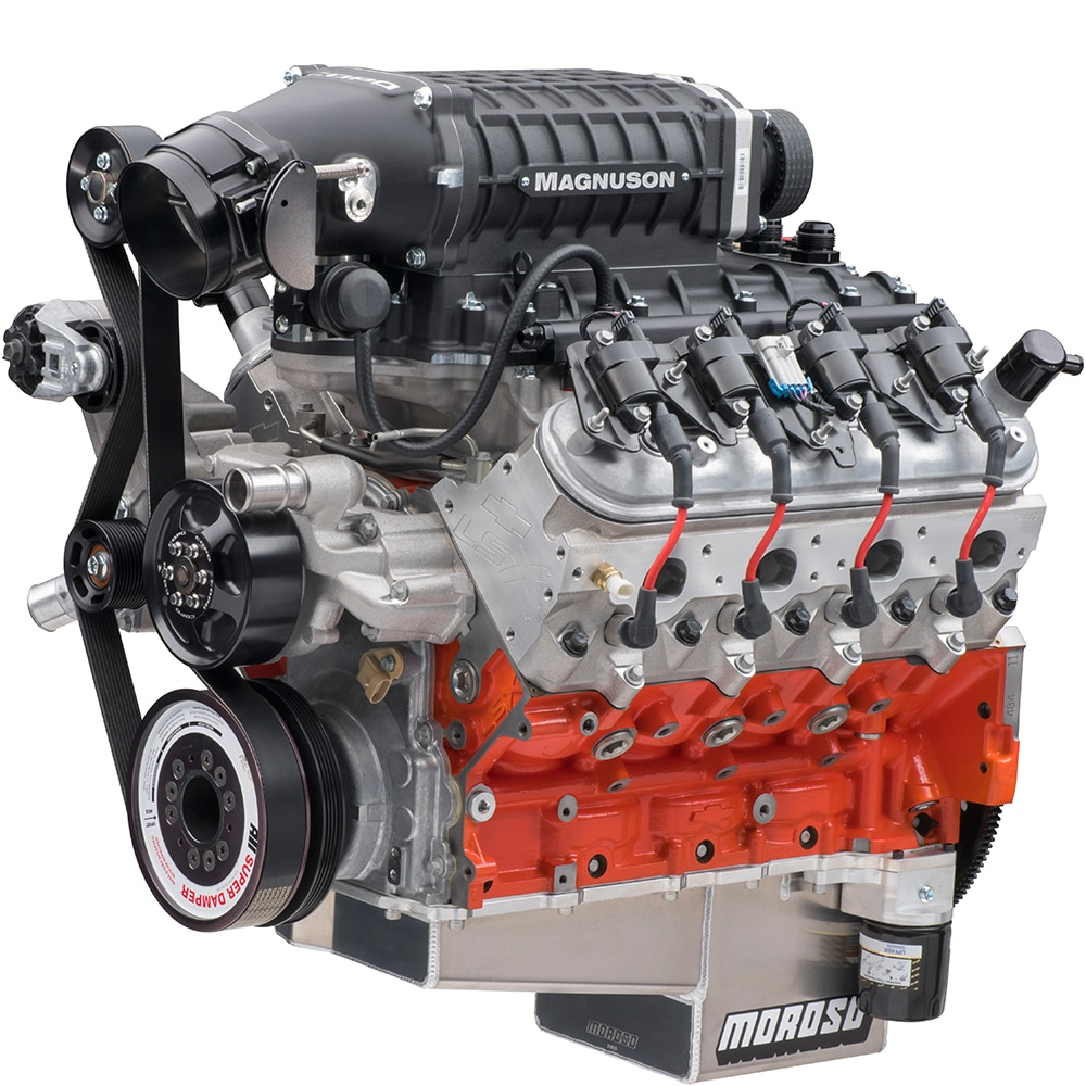 Motor armado 350 SC basado en LSX de COPO Camaro de Chevrolet Performance
