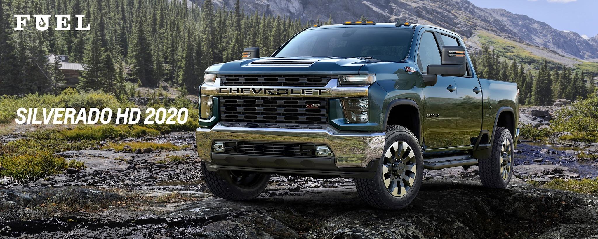 El boletín Fuel de Chevrolet Performance presenta la totalmente nueva camioneta Chevrolet Silverado 2500 HD 2020