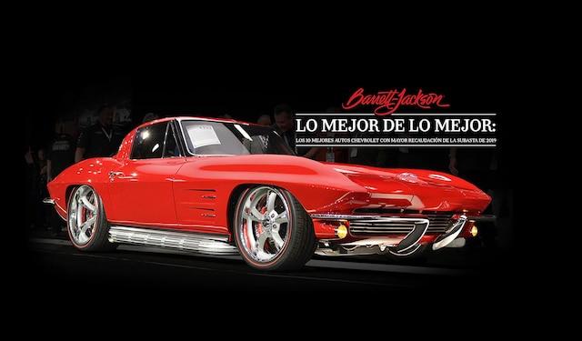 Chevrolet Performance los vehículos más imponentes de Chevy cruzan el salón de la subasta de autos coleccionables en Barrett-en Scottsdale, Arizona. Mira lo que te estás perdiendo.