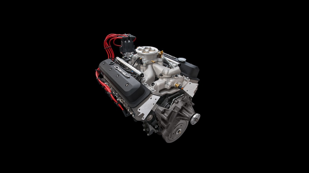 Motor armado de bloque pequeño ZZ6 EFI Deluxe de Chevrolet Performance, No. de parte 19368149