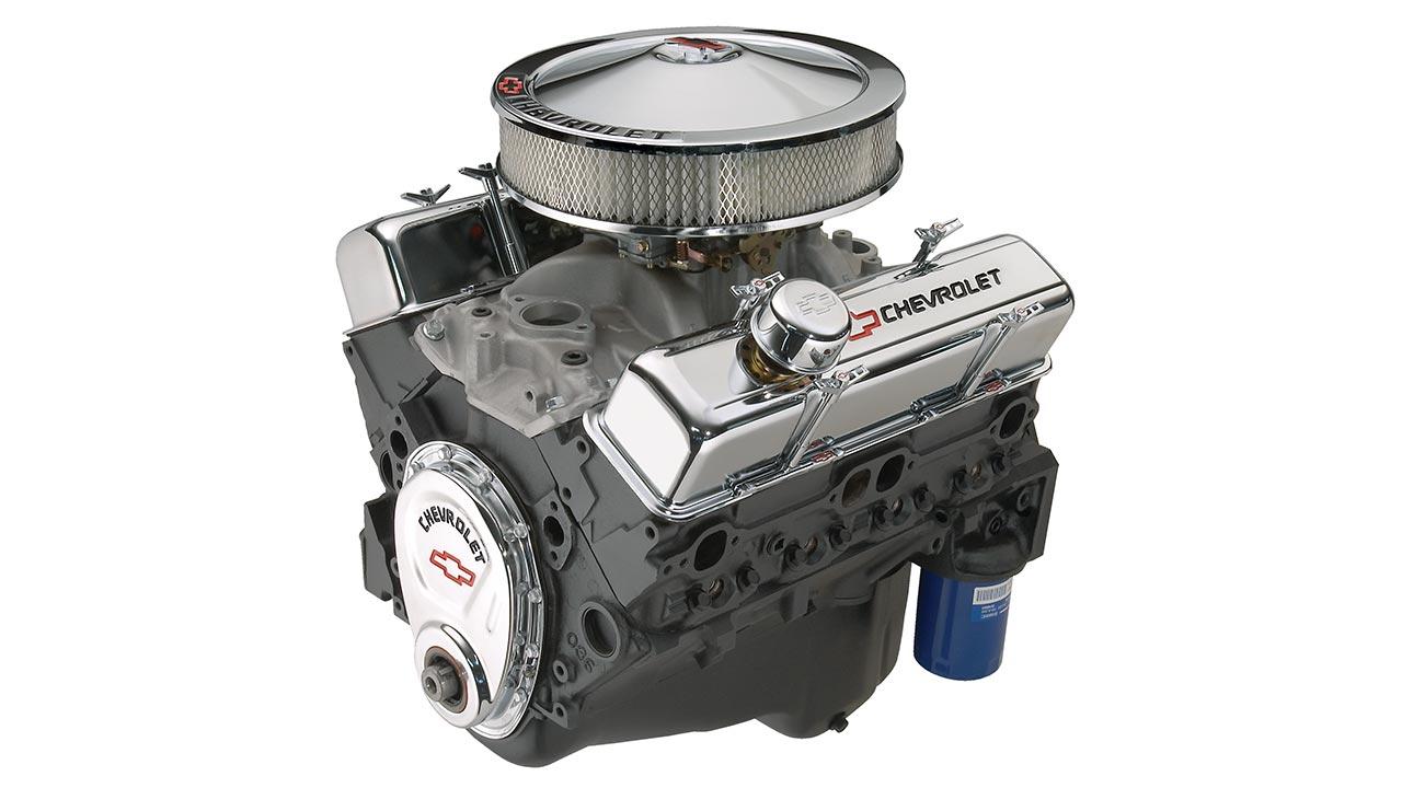 Motor armado de bloque pequeño de 350/290 HP | Chevrolet Performance