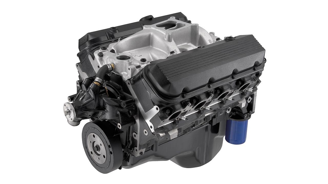 Motor armado de bloque grande 454 HO   Chevrolet Performance