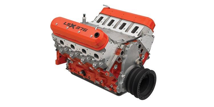 Núm. de parte  19355575 del motor armado de 473 HP LSX376-B15 de Chevrolet Performance