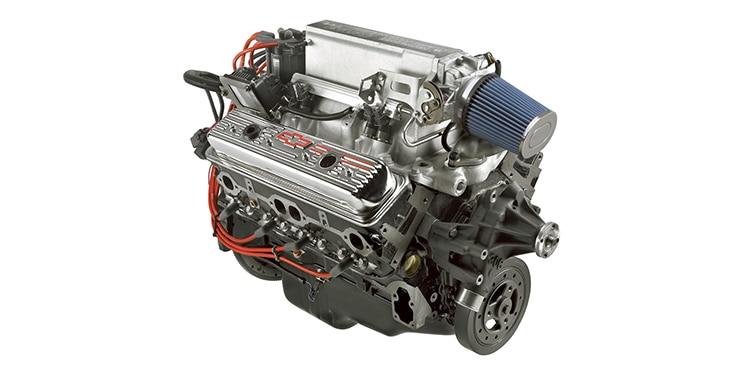 Núm. de parte 19355815 del motor armado Ram Jet 350 de 345 HP de Chevrolet Performance