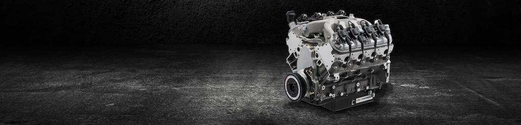 Motor armado de bloque pequeño CT525 Circle Track 19418211 Chevrolet Performance