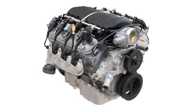 Motor armado LS3: motor de carreras | Chevrolet Performance