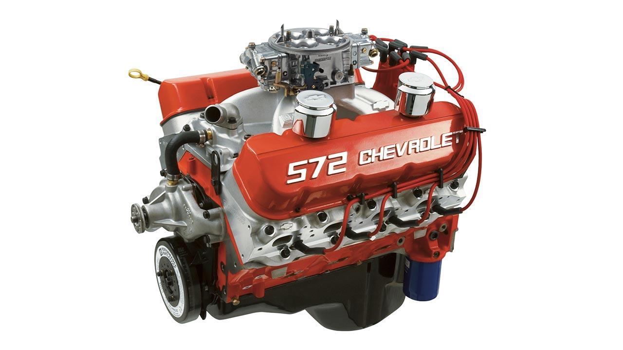 Motor Armado De Bloque Grande Zz 572 720r Chevrolet