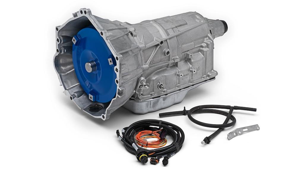 Transmisión automática de 6 velocidades del 6L80-E de Chevrolet Performance