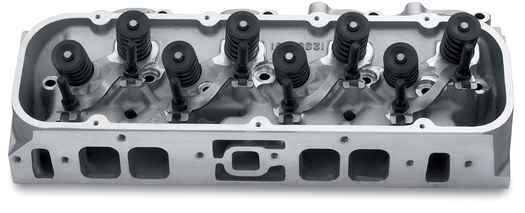 Ensamble de culata de aluminio con puerto ovalado de Chevy Performance
