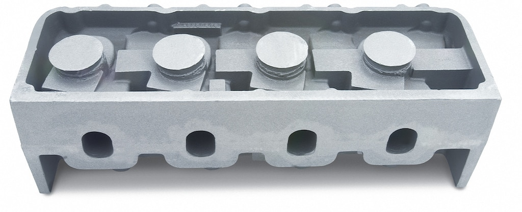 Culata de aluminio DRCE 2 de Chevy Performance