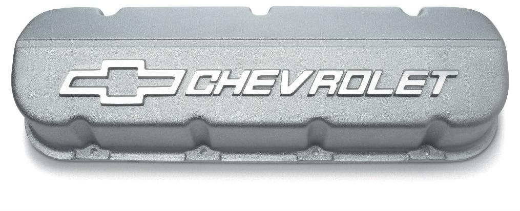 No. de parte 12371244  de tapas de válvulas de aluminio de diseño de competición de bloque grande Chevrolet Performance