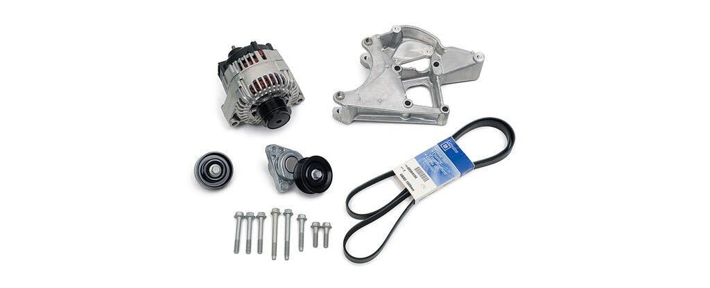 Sistema de transmisión accesoria DR525 de Chevrolet Performance, número de parte 19329418