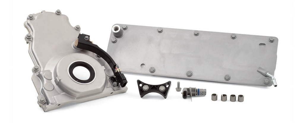 Kit de complementos para el bloque de motor de cilindros Gen IV o LSX Bowtie para producción serie LS/LT/LSX de Chevrolet Performance