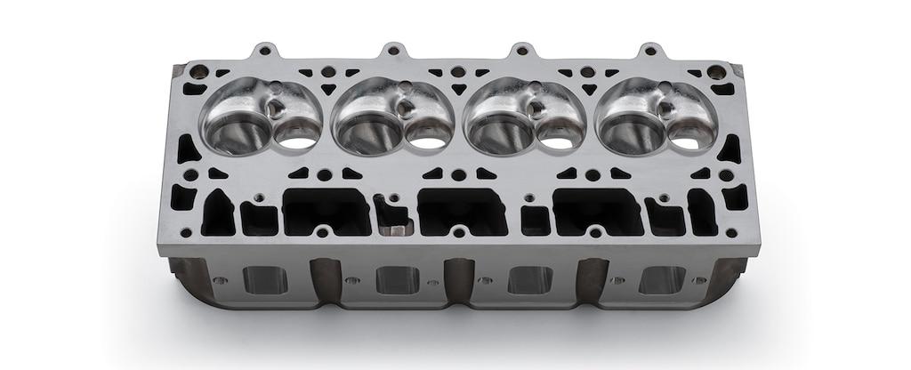 Culata mecanizada con CNC COPO Chevrolet Performance