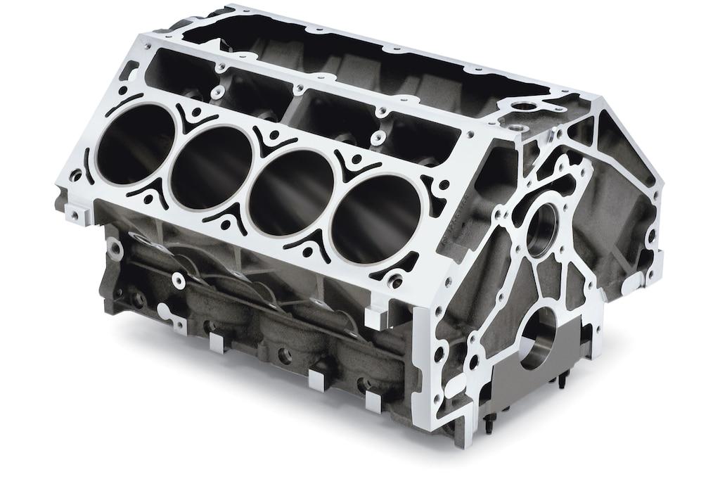 Bloques de cilindros de producción LS, LT Y LSX de Chevrolet Performance