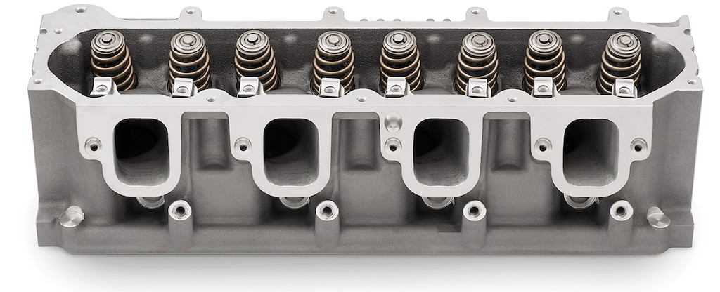 Culata LT1 con CNC de Chevy Performance