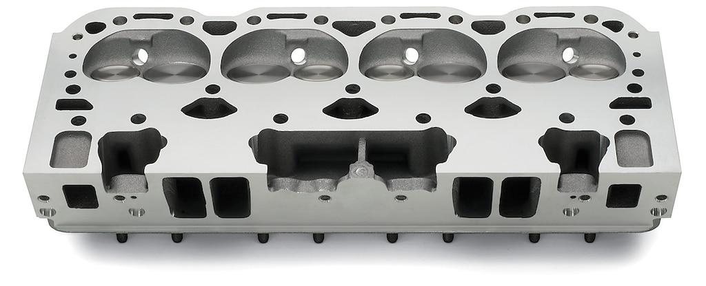Ensamble de culata Fast-Burn de aluminio Chevy Performance