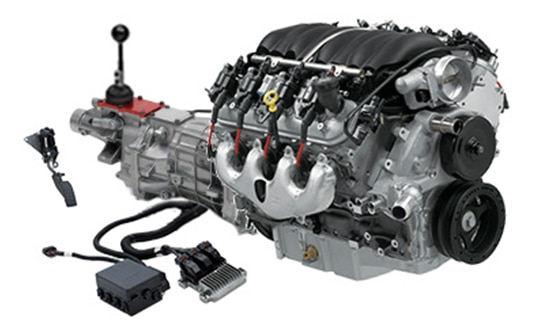Sistema Connect and Cruise para el Chevy Performance LS376-525