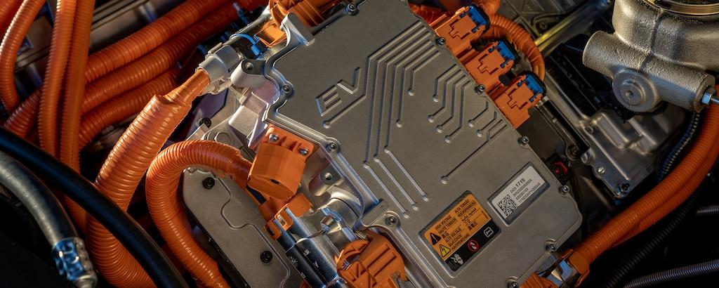 VE Chevrolet BlazerK5 eléctrico: dispositivos electrónicos