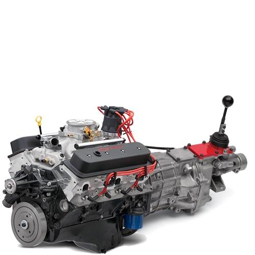Motor armado SP383 EFI Deluxe Connect and Cruise de Chevrolet Performance